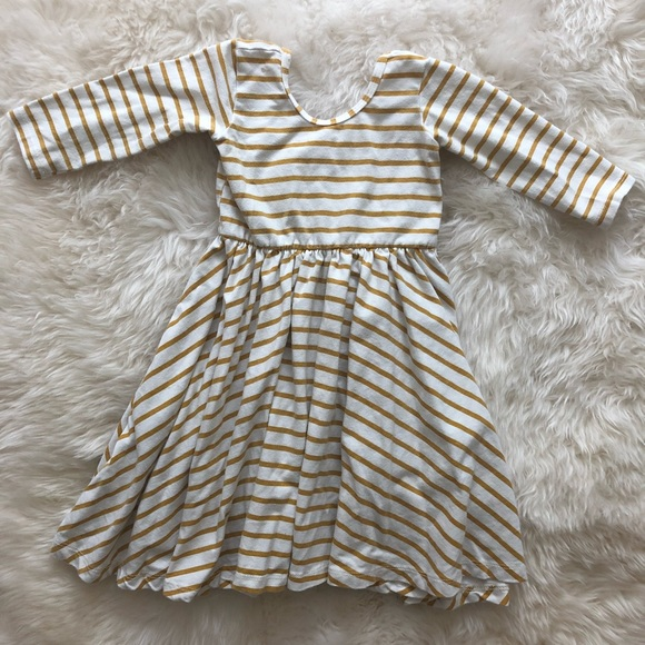 0abef0d8572 Alice   Ames Other - Alice   Ames mustard stripe spin dress
